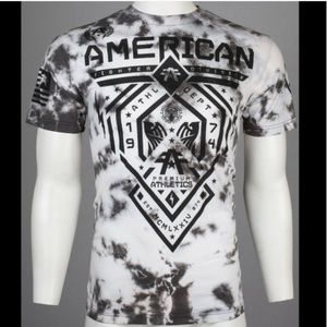 New! Men's American Fighter Tie Dye Shirt Size XL